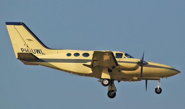 PH-UWL  Cessna 421C  421C-1234  Uniwest Group  @ Aeroporto di Verona 11.2020  © Piti Spotter Club Verona