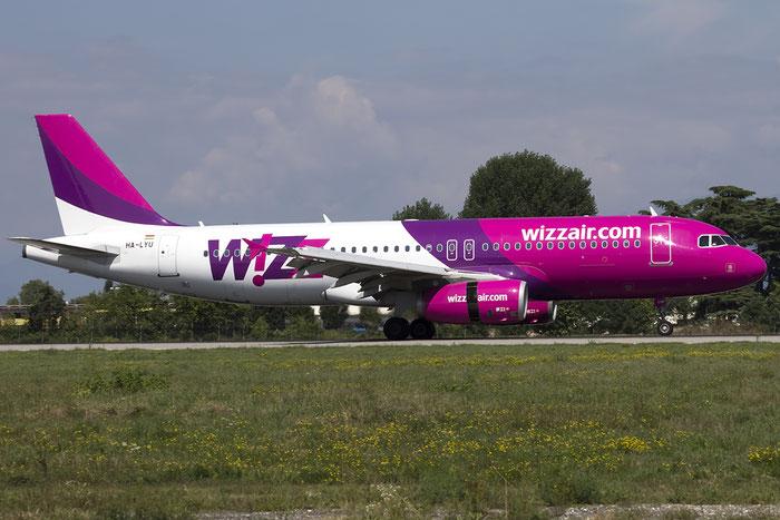 HA-LYU A320-232 3531 Wizz Air @ Treviso Airport 22.08.2015 © Piti Spotter Club Verona