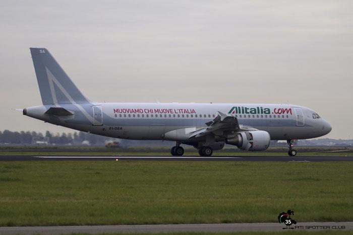 EI-DSA A320-216 2869 Alitalia @ Amsterdam Airport 24.10.2015 © Piti Spotter Club Verona