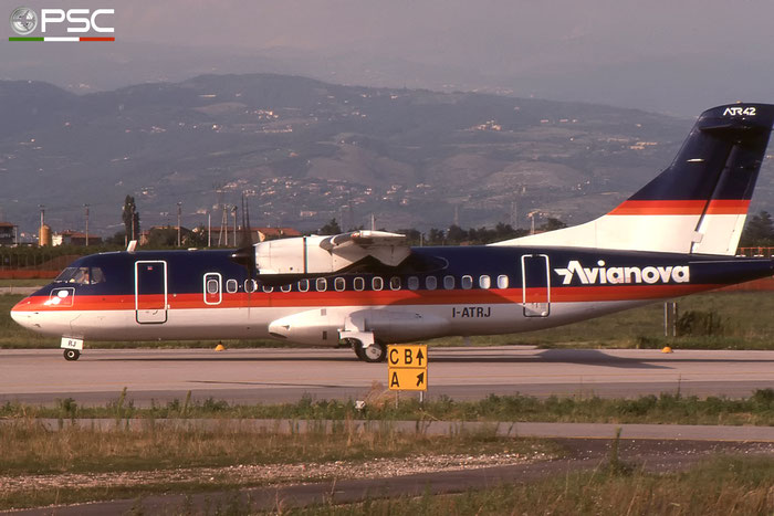 I-ATRJ ATR42-300 057 Avianova © 2018 courtesy of Marco Ceschi - Piti Spotter Club Verona