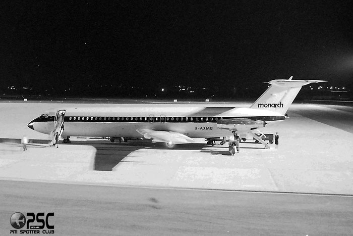 G-AXMG BAe111-518FG 201  Monarch Airlines @ Aeroporto di Verona © Piti Spotter Club Verona