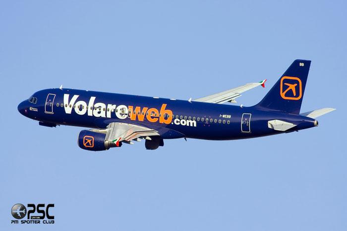 I-WEBB A320-214 3161 Volare Airlines @ Milano Malpensa Airport 12.2007 © Piti Spotter Club Verona