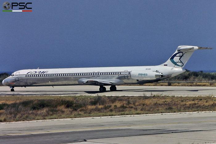 S5-ABA MD-82 48048/1005 Adria Airways @ Rhodes Airport © Piti Spotter Club Verona