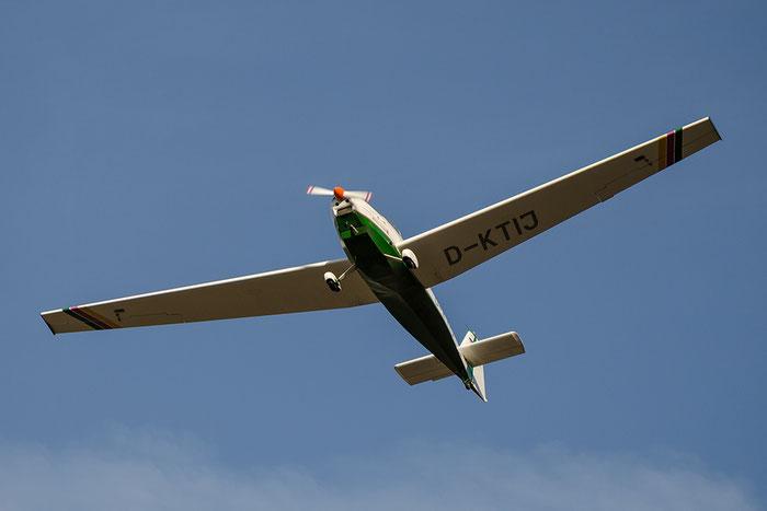 D-KTIJ - Scheibe-Flugzeugbau SF-25 Falke - Private @ Aeroporto di Bolzano © Piti Spotter Club Verona
