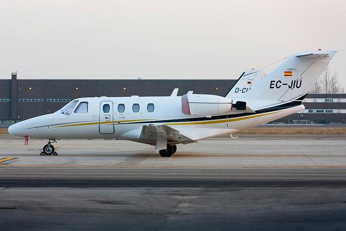 EC-JIU Ce525 525-0486 Executive Airlines @ Treviso Airport 16.02.2012 © Piti Spotter Club Verona