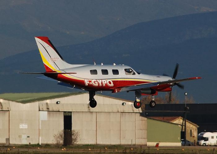 F-GYPQ Piper PA46 4622013 Private @ Aeroporto di Verona 11.2020  © Piti Spotter Club Verona