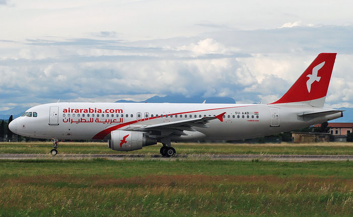 SU-AAD A320-214 4890 Air Arabia Egypt @ Aeroporto di Verona 14.05.2018  © Piti Spotter Club Verona