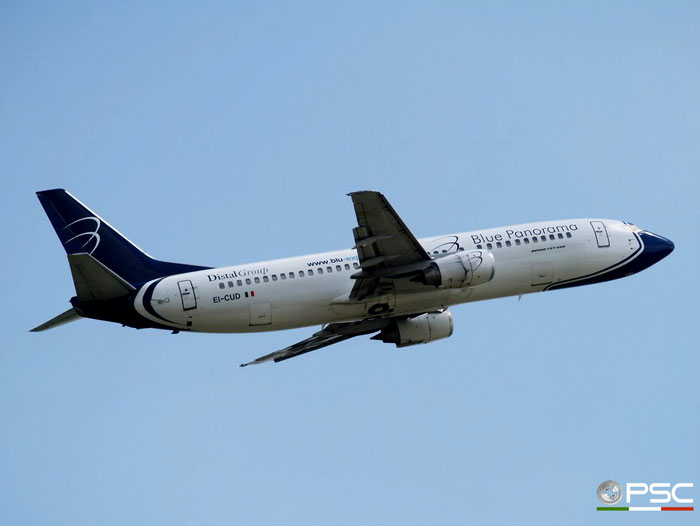 EI-CUD B737-4Q8 26298/2564 Blue Panorama Airlines @ Aeroporto di Verona 23.06.2007  © Piti Spotter Club Verona