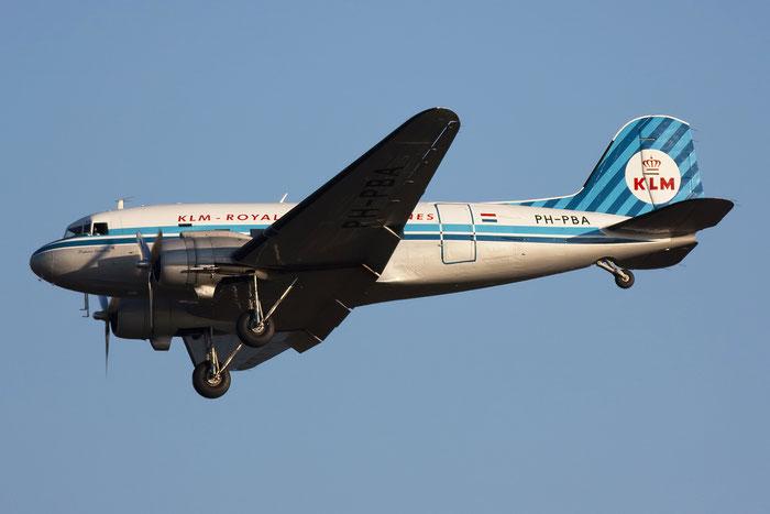 PH-PBA Douglas DC-3C-S1C3G DDA Classic Airlines @ Venice Airport 29.12.2011 © Piti Spotter Club Verona