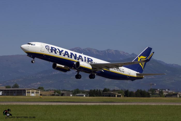 EI-DAM B737-8AS 33719/1312 Ryanair @ Aeroporto di Verona 21.05.2017  © Piti Spotter Club Verona