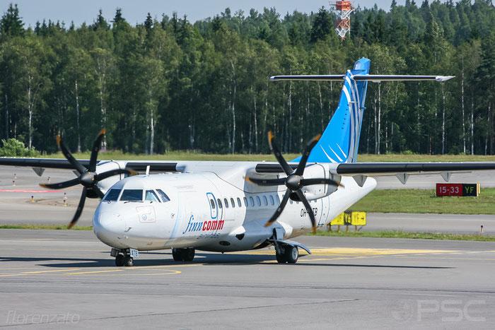 OH-ATB ATR42-500 643 FinnComm Airlines @ Helsinki Airport 2008 © Piti Spotter Club Verona