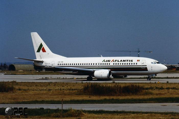 CS-TIR  B737-3K2  23411/1195  Air Atlantis  @ Aeroporto di Verona © Piti Spotter Club Verona