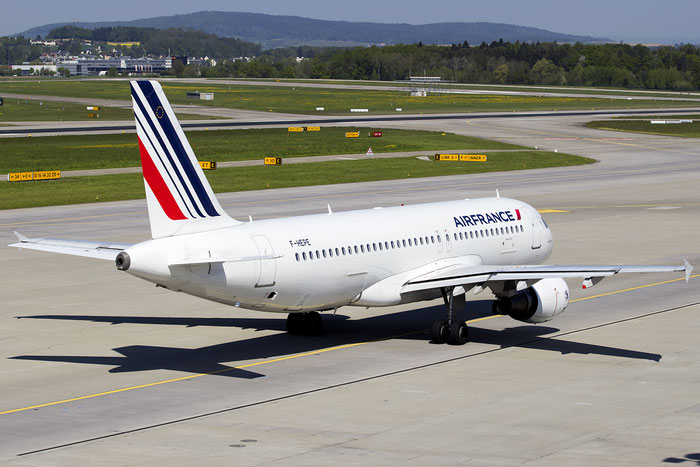 F-HEPE A320-214 4298 Air France @ Zurich Airport 05.2016 © Piti Spotter Club Verona