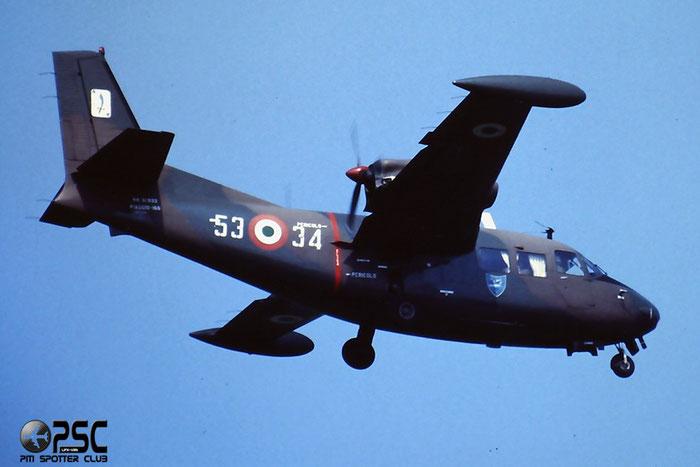 MM61933  53-34  P166M  443/92 @ Aeroporto di Verona   © Piti Spotter Club Verona