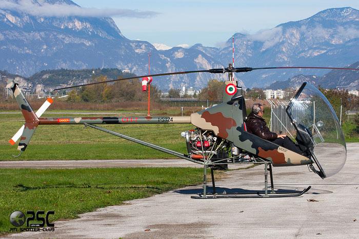 I-5924 - Heli-Sport - CH-7 Victor - Private @ Aeroporto di Trento © Piti Spotter Club Verona