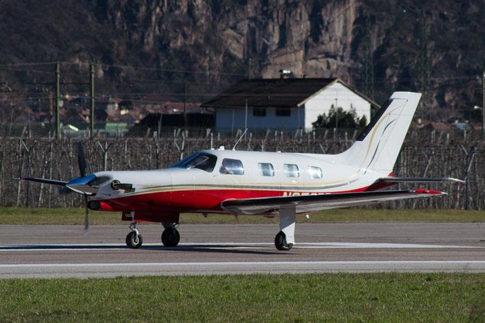 N350BR Piper PA-46-310P Malibu PA46 4608001 Reni Jetprop Inc Trustee @ Aeroporto di Bolzano © Piti Spotter Club Verona