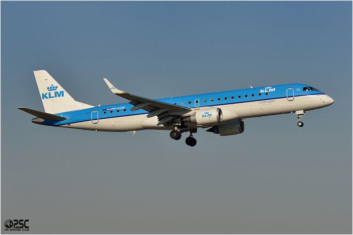 PH-EZW ERJ190STD 19000533 KLM Cityhopper @ Bologna Airport - 06.12.2015  © Piti Spotter Club Verona