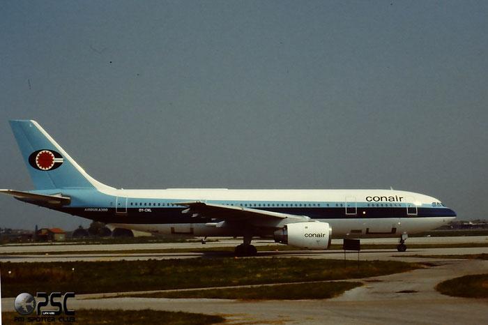 OY-CNL  A300B4-120  128  Conair of Scandinavia  @ Aeroporto di Verona © Piti Spotter Club Verona