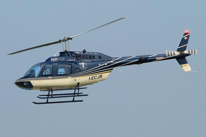 Elicompany Agusta-Bell AB-206 I-ECJR @ Aeroporto di Verona © Piti Spotter Club Verona