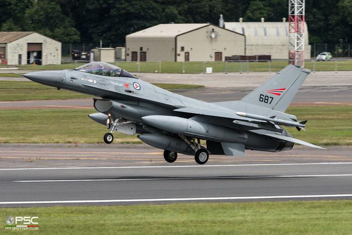 687   F-16AM  6K-59  331 skv © Piti Spotter Club Verona