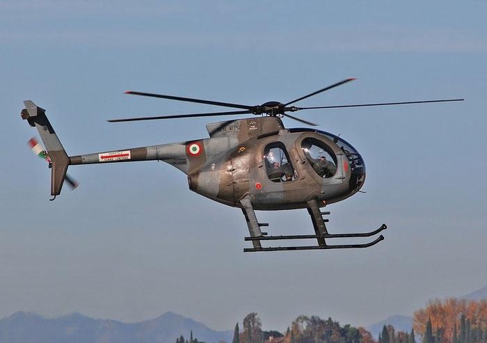 MM81352   NH500MD  BH-11  615ª SC @ Aeroporto di Verona   © Piti Spotter Club Verona