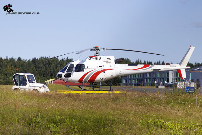 OY-HIS Eurocopter AS.350B3 (4047) @ Reykjavik 08.2019 © Piti Spotter Club Verona