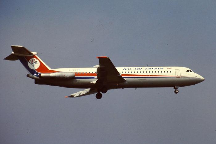 G-BJYM  BAe111-531FS  242  Dan-Air London  @ Aeroporto di Verona © Piti Spotter Club Verona