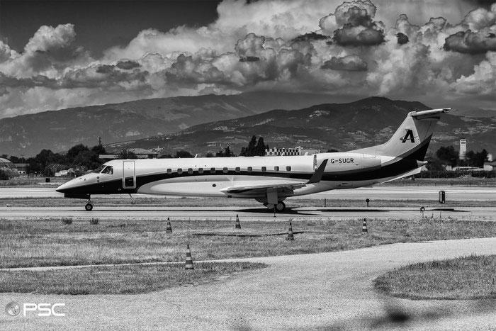 G-SUGR ERJ135BJ 14501199 Air Charter Scotland @ Aeroporto di Verona 01.07.2017  © Piti Spotter Club Verona