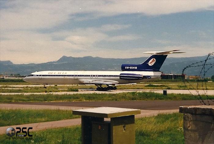 EW-85419  Belavia - Tu-154  @ Aeroporto di Verona © Piti Spotter Club Verona