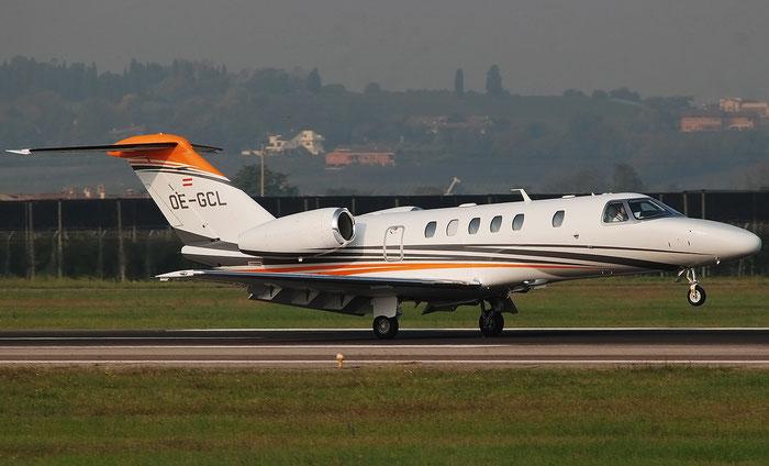 OE-GCL  Ce525C  525C-0327  Avcon Jet  @ Aeroporto di Verona 11.2020  © Piti Spotter Club Verona