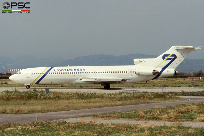OO-CAH B727-2X3 22609/1731 Constellation International Airlines © 2018 courtesy of Marco Ceschi - Piti Spotter Club Verona