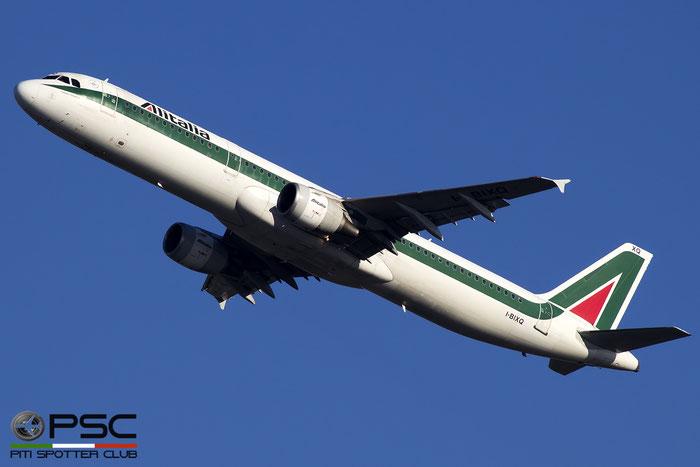 I-BIXQ A321-112 586 Alitalia @ Roma Fiumicino Airport 18.12.2016  © Piti Spotter Club Verona