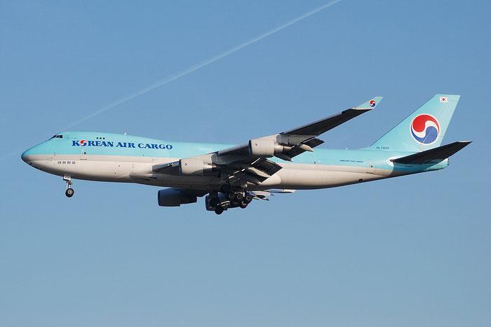 HL7499 B747-4B5ERF 33517/1340 Korean Air @ Milano Malpensa Airport 23.11.2014 © Piti Spotter Club Verona