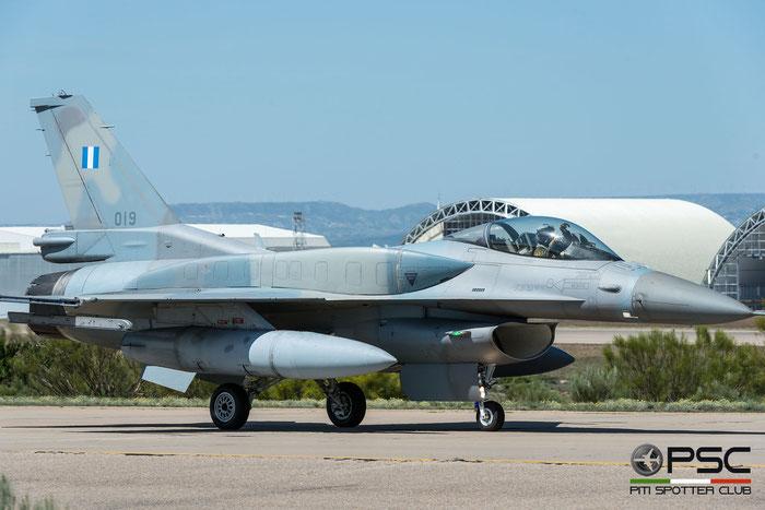 019   F-16C-52+-CF  WJ-19  335 Mira © Piti Spotter Club Verona