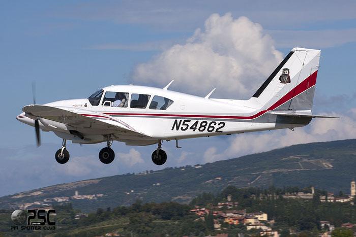 N54862 - Piper PA-23 Aztec @ Aeroporto Verona Boscomantico © Piti Spotter Club Verona