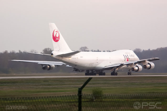 JA8161 B747-246BF 22990/579 Japan Airlines International @ Frankfurt Airport 2005 © Piti Spotter Club Verona