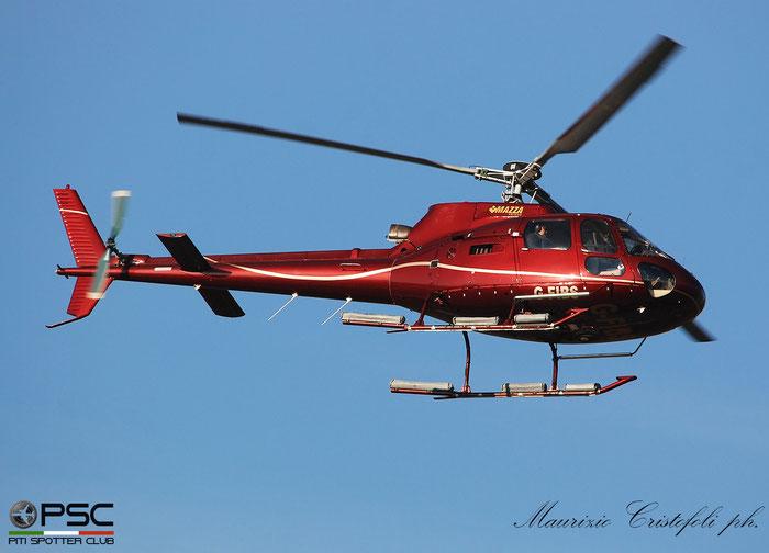 G-FIBS Airbus Helicopters H125 Private - @ Aeroporto di Verona 2021 © Piti Spotter Club Verona