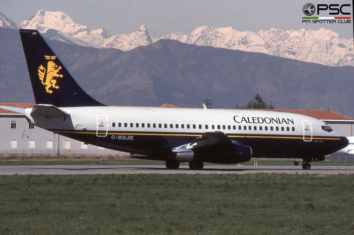 G-BGJG B737-236 22028/656 Caledonian Airways © 2018 courtesy of Marco Ceschi - Piti Spotter Club Verona