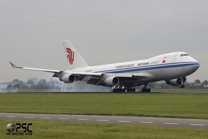 B-2476 B747-4FTF 34240/1373 Air China Cargo @ Amsterdam Airport 20.09.2013 © Piti Spotter Club Verona