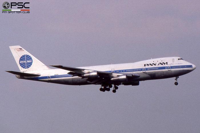 N655PA B747-121SCD 20350/117 Pan Am - Pan American World Airways © 2018 courtesy of Marco Ceschi - Piti Spotter Club Verona