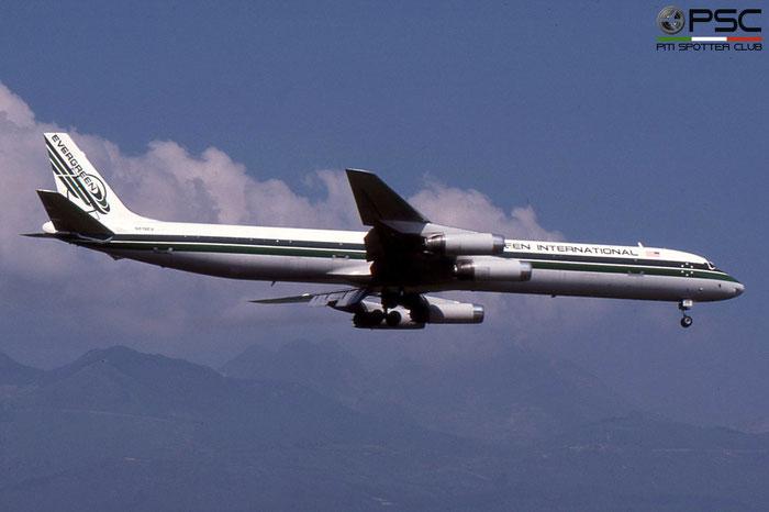 N819EV DC-8-63F 46126/524 Evergreen International Airlines © 2018 courtesy of Marco Ceschi - Piti Spotter Club Verona