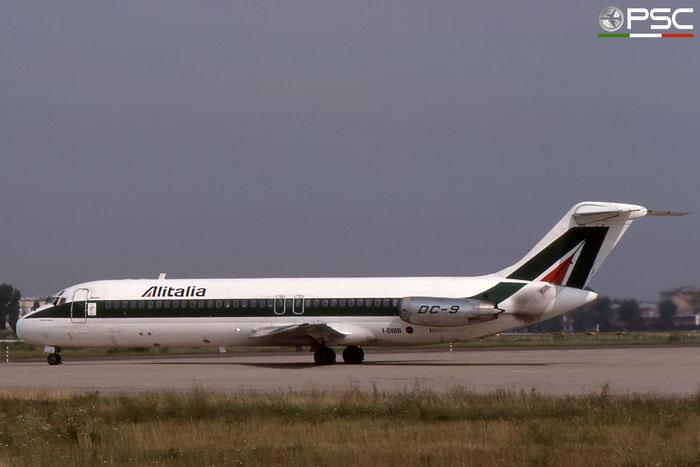 I-DIBR DC-9-32 47038/136 Alitalia © 2018 courtesy of Marco Ceschi - Piti Spotter Club Verona