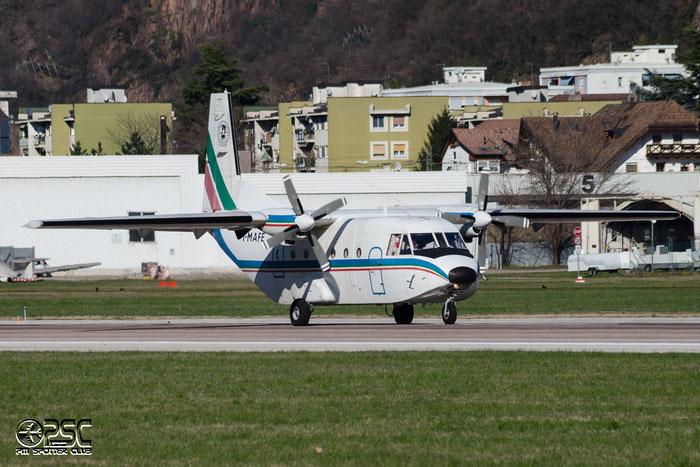I-MAFE CASA C-212-200 Aviocar C212 273 Compagna Generale Ripresearee, Parma @ Aeroporto di Bolzano © Piti Spotter Club Verona