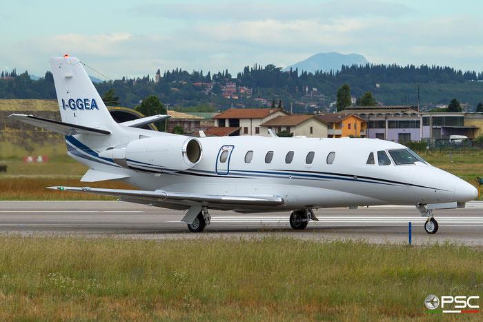 I-GGEA Ce560XLS+ 560-6044 @ Aeroporto di Verona 07.2017  © Piti Spotter Club Verona