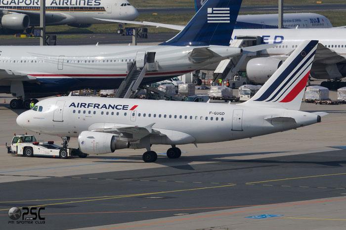 F-GUGD A318-111 2081 Air France @ Frankfurt Airport 25.07.2014 © Piti Spotter Club Verona