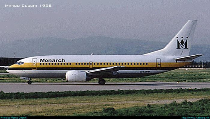 G-EURP  B737-35B  24237/1624  Monarch Airlines  @ Aeroporto di Verona © Piti Spotter Club Verona