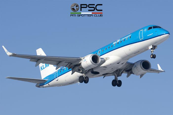 PH-EXE  ERJ190STD  19000687  KLM Cityhopper  @ Bologna 2018 © Piti Spotter Club Verona