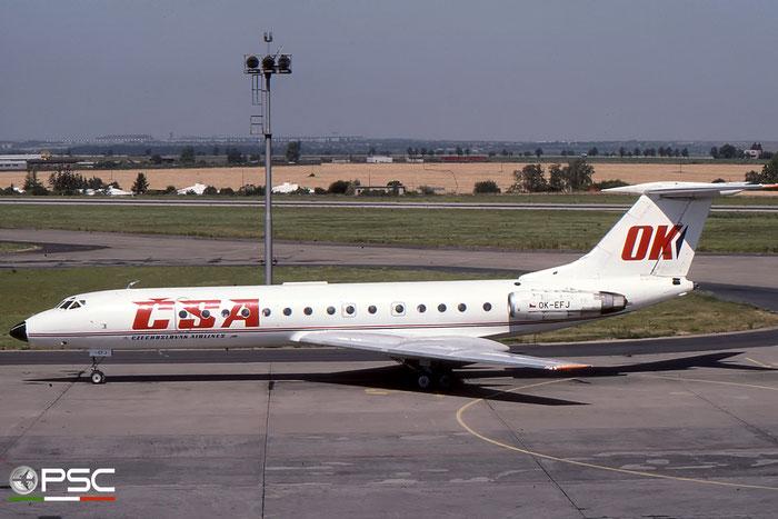 OK-EFJ 23128 Tu-134A OK-EFJ CSA © 2018 courtesy of Marco Ceschi - Piti Spotter Club Verona