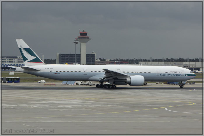 B-KPN  B777-367ER  36165/839  Cathay Pacific Airways  @ Frankfurt 22.10.2014  © Piti Spotter Club Verona