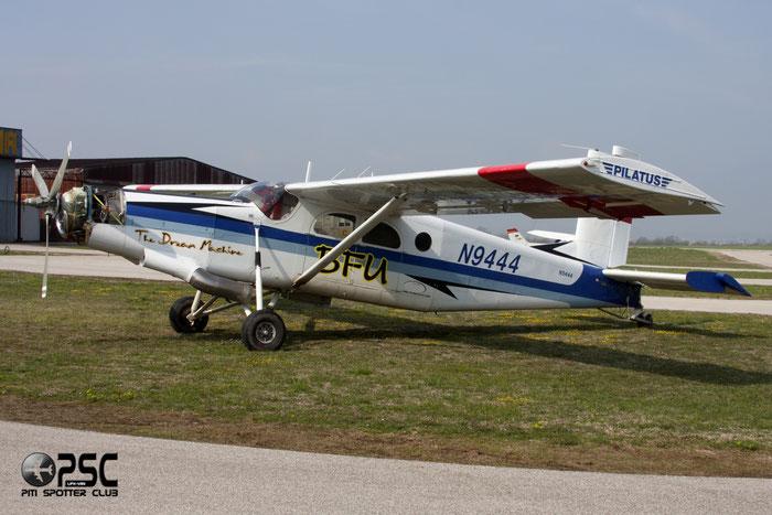 N9444 PILATUS PC-6/C1-H2 521 @ Aeroporto Verona Boscomantico © Piti Spotter Club Verona